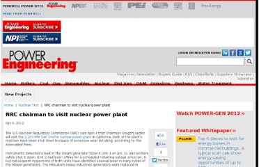 http://www.power-eng.com/articles/2012/04/nrc-chairman-to-visit-nuclear-power-plant.html