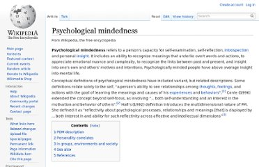 http://en.wikipedia.org/wiki/Psychological_mindedness