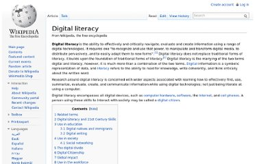http://en.wikipedia.org/wiki/Digital_literacy