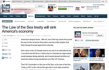http://www.foxnews.com/opinion/2012/05/23/law-sea-treaty-will-sink-america-economy/