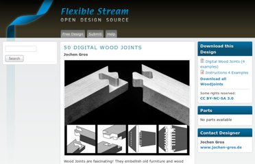 http://www.flexiblestream.org/project/50-digital-wood-joints