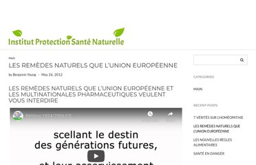 http://institut-protection-sante-naturelle.eu/video/Petition1204/Petition1205.html