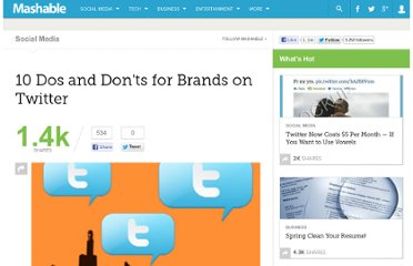 http://mashable.com/2010/04/27/twitter-brand-dos-and-donts/