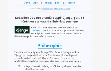 https://larlet.fr/david/biologeek/archives/20060617-redaction-de-votre-premiere-appli-django-partie-3-creation-des-vues-de-l-interface-publique/