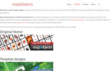 http://www.snap2objects.com/freebies/