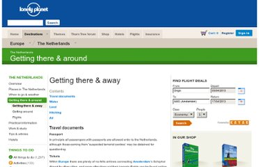 http://www.lonelyplanet.com/the-netherlands/transport/getting-there-away