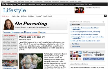 http://www.washingtonpost.com/blogs/on-parenting/post/why-its-good-to-let-boys-cry/2012/05/24/gJQAx1TAnU_blog.html