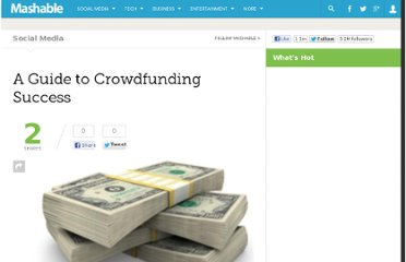 http://mashable.com/2009/07/29/crowdfunding-success/