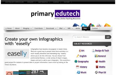 http://primaryedutech.com/2012/create-your-own-infographics-with-easelly/