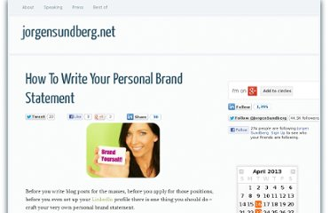 http://jorgensundberg.net/how-write-your-personal-brand-statement/
