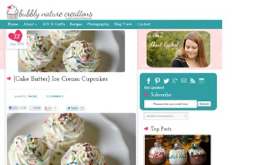 http://bubblynaturecreations.com/2012/04/ice-cream-cupcakes-and-project-party-weekend-link-up-here.html