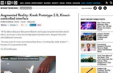 http://www.wired.com/beyond_the_beyond/2012/05/augmented-reality-kreek-prototype-2-0-kinect-controlled-interface/