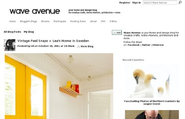 http://waveavenue.com/profiles/blogs/vintage-feel-snaps-leas-home-in-sweden