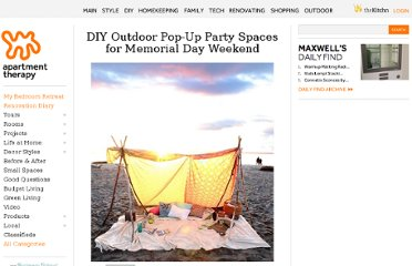 http://www.apartmenttherapy.com/diy-outdoor-pop-up-spaces-for-memorial-day-weekend-171312