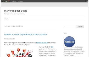 http://marketingdesdeals.blog-idrac.com/tag/achat-groupe/