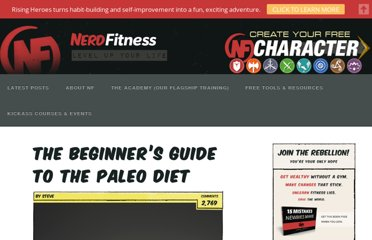http://www.nerdfitness.com/blog/2010/10/04/the-beginners-guide-to-the-paleo-diet/