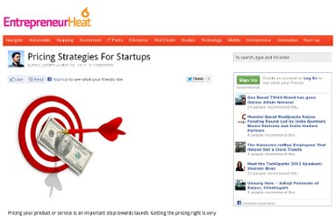 http://www.entrepreneurheat.com/2012/05/28/pricing-strategies-for-startups/