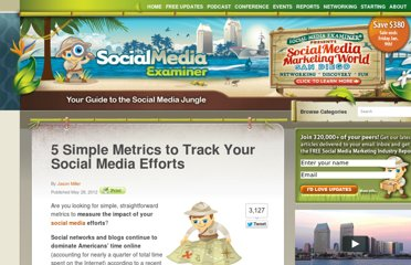 http://www.socialmediaexaminer.com/metrics-to-track-your-social-media-efforts/