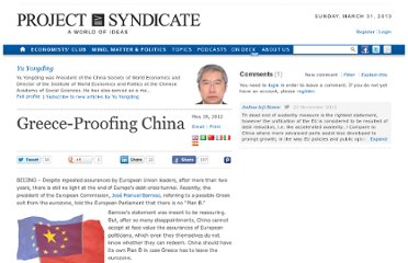http://www.project-syndicate.org/commentary/greece-proofing-china