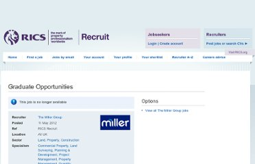 http://www.ricsrecruit.com/job/54742/graduate-opportunities/
