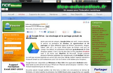 http://tice-education.fr/index.php?option=com_content&view=article&id=617:google-drive-le-stockage-et-le-partage-gratuit-de-documents&catid=52:internetweb2&Itemid=251