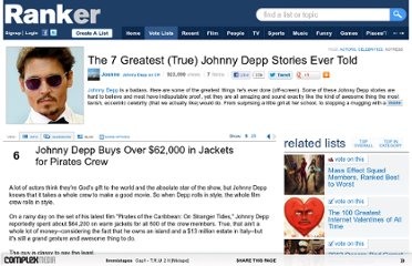 http://www.ranker.com/list/the-7-greatest-_true_-johnny-depp-stories-ever-told/joanne?page=2