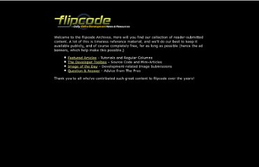 http://www.flipcode.com/archives/