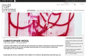 http://www.mam.paris.fr/fr/expositions/christopher-wool