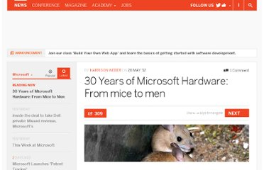 http://thenextweb.com/microsoft/2012/05/28/30-years-of-microsoft-hardware-from-mice-to-men/