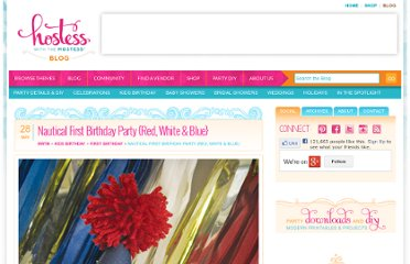 http://blog.hwtm.com/2012/05/adorable-nautical-first-birthday-red-white-blue/