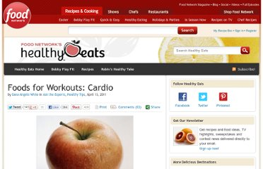 http://blog.foodnetwork.com/healthyeats/2011/04/13/foods-for-workouts-cardio/