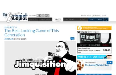 http://www.escapistmagazine.com/videos/view/jimquisition/5770-The-Best-Looking-Game-of-This-Generation