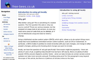 http://www.free-bees.co.uk/articles/using_git_locally/