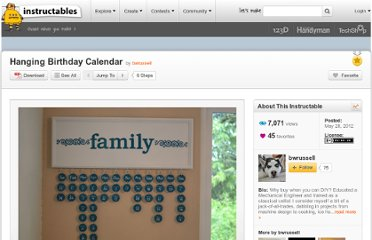 http://www.instructables.com/id/Hanging-Birthday-Calendar/