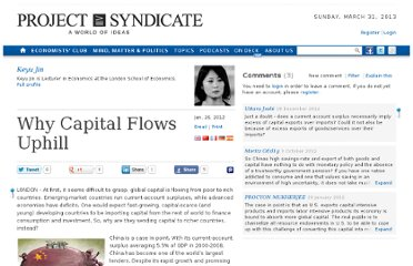 http://www.project-syndicate.org/commentary/why-capital-flows-uphill