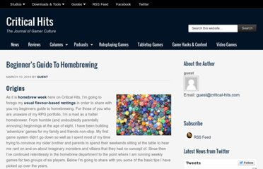 http://critical-hits.com/2010/03/10/beginners-guide-to-homebrewing/