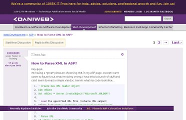 http://www.daniweb.com/web-development/asp/threads/30083/how-to-parse-xml-in-asp