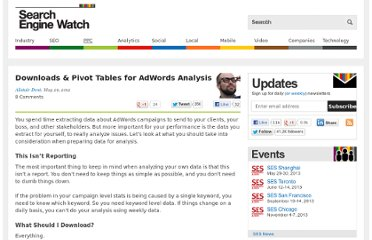 http://searchenginewatch.com/article/2180415/Downloads-Pivot-Tables-for-AdWords-Analysis