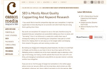http://seo.casson.co.za/seo/seo-is-about-quality-copywriting-and-keyword-research