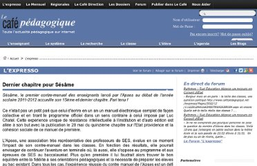 http://www.cafepedagogique.net/lexpresso/Pages/2012/05/29052012Article634738723218727622.aspx