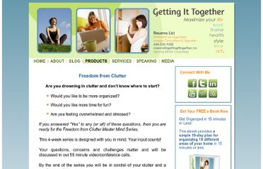 http://gettingittogether.ca/products-page/freedom-from-clutter/