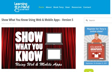 http://learninginhand.com/blog/show-what-you-know-using-web-mobile-apps-infographic.html