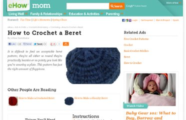 http://www.ehow.com/how_2181330_crochet-a-beret.html