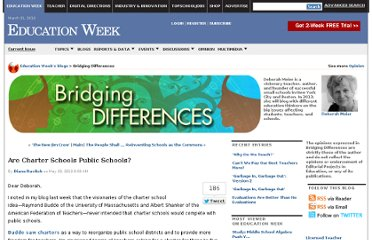 http://blogs.edweek.org/edweek/Bridging-Differences/2012/05/are_charter_schools_public_sch.html#comments