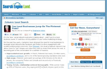 http://searchengineland.com/can-local-businesses-jump-on-the-pinterest-train-122428