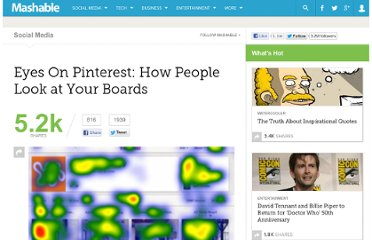 http://mashable.com/2012/05/29/pinterest-eye-tracking-study/