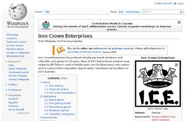 http://en.wikipedia.org/wiki/Iron_Crown_Enterprises