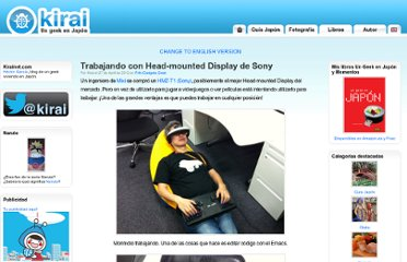 http://www.kirainet.com/trabajando-con-head-mounted-display-de-sony/