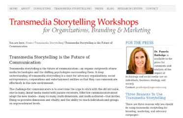 http://athinklab.com/transmedia-storytelling/transmedia-storytelling-is-the-future-of-communication/