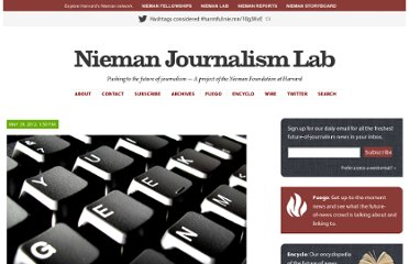 http://www.niemanlab.org/2012/05/3-new-ideas-on-the-future-of-news-from-mit-media-lab-students/